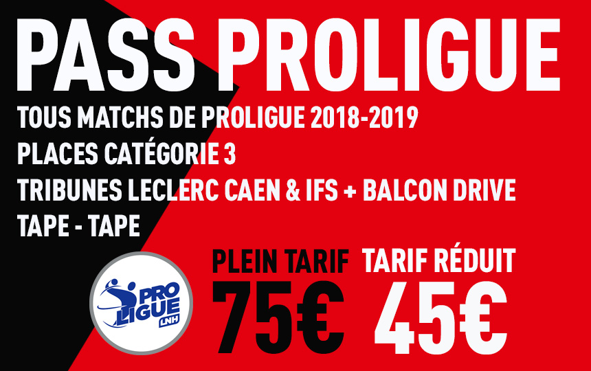 PASS PROLIGUE 2018