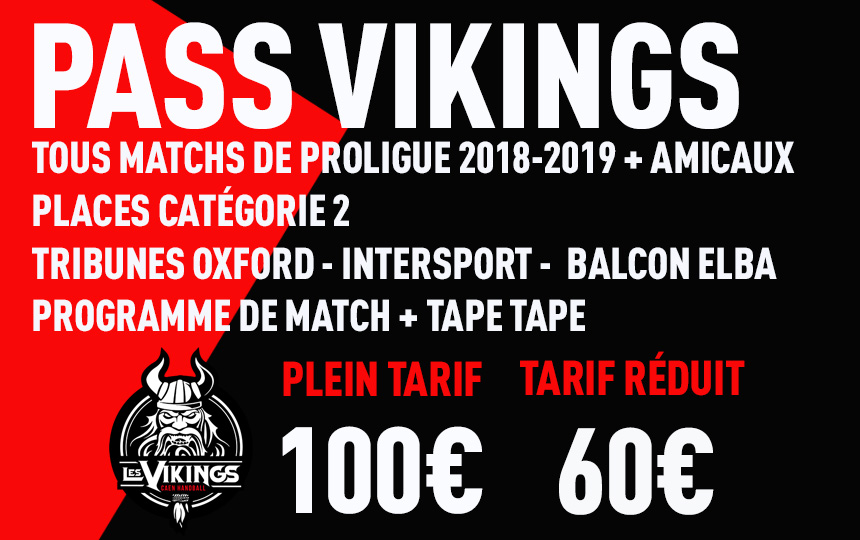 PASS VIKINGS 2018